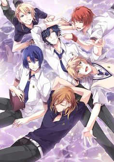 Uta no☆prince-sama♪, Shinomiya Natsuki, Ittoki Otoya, Jinguji Ren, Hijirikawa Masato