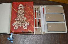 Week 7 of Designing a Creative Travel Journal - great idea for a reuseable travel journal set up