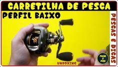Carretilha de Pesca Perfil Baixo   Unboxing   [Pescas e Dicas]