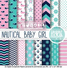 Digital Paper Navy Nautical Pale pink Marine by LagartixaShop, $4.00  https://www.etsy.com/listing/181160339/digital-paper-navy-nautical-pale-pink?ref=sr_gallery_27&ga_order=date_desc&ga_view_type=gallery&ga_page=36&ga_search_type=all