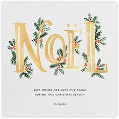 Postman, is there a holiday card in your bag for me? [GIVEAWAY] The Fir Noel Gold Rifle Paper Co.The Fir Noel Gold Rifle Paper Co. Noel Christmas, All Things Christmas, Winter Christmas, Christmas Crafts, Christmas Decorations, Xmas Cards, Holiday Cards, Watercolor Christmas Cards, Painted Christmas Cards