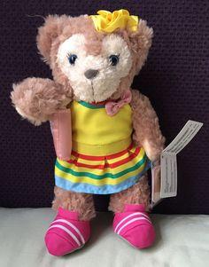 "HKDL Hong Kong Disney 2017 Summer Shelliemay Plush 9"" Duffy Gelatoni   eBay"