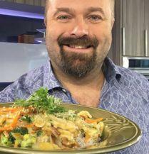 Lasagne aux légumes grillés | Salut Bonjour Tva, Pain, Arts, Macaroni, Chicken, Food, Showgirls, Pasta Meals, Cooking Food