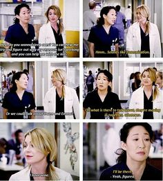 """I have wine"" -Meredith ""Yeah I'll be there"" Christina Grey's Anatomy. I relate so much to Cristina in this! Meredith Grey, Meredith And Christina, Grey's Anatomy, Greys Anatomy Frases, Grey Anatomy Quotes, Grey Quotes, Tv Quotes, Funny Quotes, Movie Quotes"