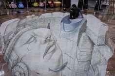 El quetzal, ave símbolo de nuestro país, juega un lugar importante en esta exposición del artista en 3D Eduardo Relero. (Foto: Jesús Alfonso/Soy502)