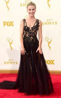 Emmy Awards 2015: Red Carpet Arrivals Julianne Hough #evocateurstyle #runway #emmys