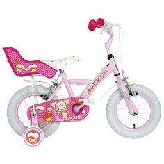 "Halfords   Apollo Cupcake Girls Bike - 12"""