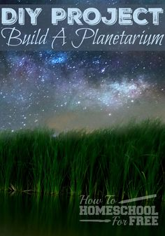 You CAN build your own planetarium for FREE with these household items! This is…