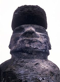 Moai are enormous: The largest one successfully transported from Easter's quarry and set upright on a pedestal was about 32 feet tall, more than 10 feet across at the shoulders, and weighed over 80 tons.