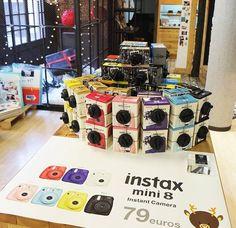 Instax Mini 8, Instant Camera, Display, Creativity, Billboard
