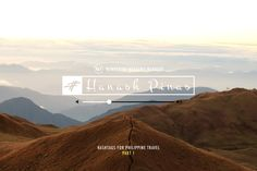 Hanash Pinas: Hashtags You Can Use For Philippine Travel - Wandering Weekend Warrior Philippines Travel, Hashtags, Wander, The 100, Canning, Philippines Destinations, Home Canning, Conservation