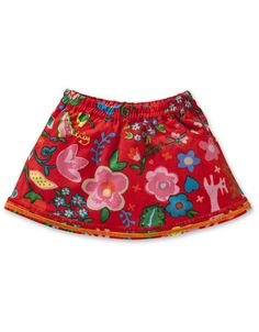 #Oilily Fall 2012 Soena Red Fancy Wild Skirt - BABY <3 at Olly Seven