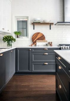 Here are the Dark Grey Kitchen Design Ideas. This article about Dark Grey Kitchen Design Ideas was posted under the Kitchen category by our team at August 2019 at am. Hope you enjoy it and don& forget to . Home Decor Kitchen, Rustic Kitchen, New Kitchen, Kitchen Dining, Kitchen Ideas, Summer Kitchen, Kitchen And Living Room Design, Kitchen Designs, Walnut Kitchen