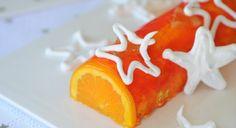 La bûche de Noël à l'orange