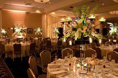 Lovely centerpiece at Stockton Seaview Resort in Galloway NJ, near Atlantic City