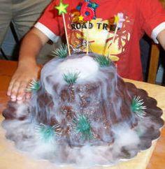Volcano Cake - 2008