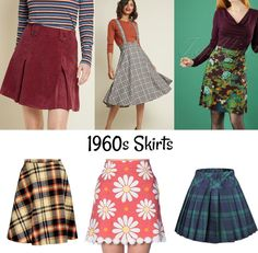 fashion history for women. A return to youth, shocking colors, shorter hemlines, pop art and the hippie movement. What did women wear? 1960s Fashion Women, Retro Fashion, Vintage Fashion, Womens Fashion, 1960s Fashion Hippie, Retro Mode, Mode Vintage, Style Année 60, 1960s Style