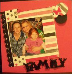 Family 8x8 page 1 - Scrapbook.com