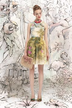 Red Valentino Spring 2013 Ready-to-Wear - Collection - Gallery - Style.com