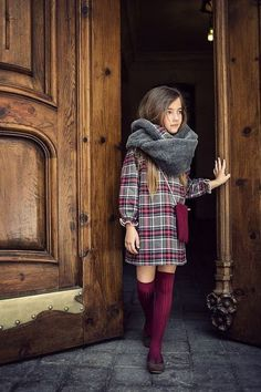 Mi pequeño Lucas - Galería Love this look (plaid!) for Autumn Outfits Niños, Outfits For Teens, Cool Outfits, Little Girl Outfits, Little Girl Fashion, Tween Fashion, Toddler Fashion, Looks Teen, Top Mode
