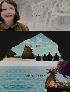 say yes to new adventures  narnia, the chronicles of narnia