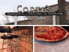 """Conte's in Princeton, NJ   A short ride from Palmer square is the """"best pizza!"""""""