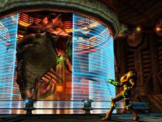 Metroid Prime 1st boss