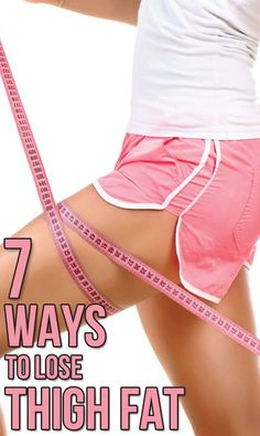 Getting rid of thigh fat can be really tough. Try these inner thigh workouts from the comfort of you home and watch the fat be burned off.