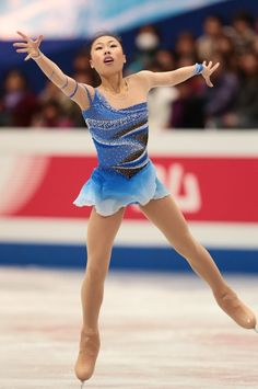 Kexin Zhang skating to a Chopin Nocturne for her short program at the 2013 Four Continents Championships.