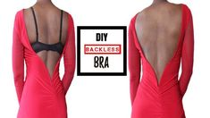 Hi lovelies. In this tutorial I'll show you how you can you can turn a normal, regular bra into a backless bra. If you're a bigger boob girl like myself, you...