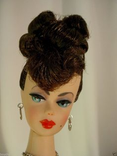FAB ARTIST BRUNETTE UPDO REPRO BARBIE MAKE OVER GREAT VINTAGE LOOK  AFKA JOSHARD