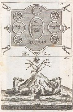 """Verbum Dimissum: Abraham Eleazar: Uraltes Chymisches Werk (""""La Edad de Oro del…"""