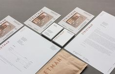 #VERLAG  Branding for Strietman, a design firm developing coffee-related products for the consumer market that excel in craftsmanship. The logotype i...