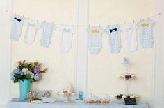 Cute Baby boy shower decor