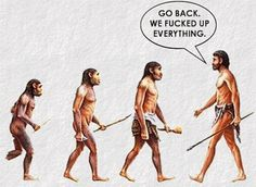 15 Satirical Evolution Cartoons That Will Make You Question Our Progress