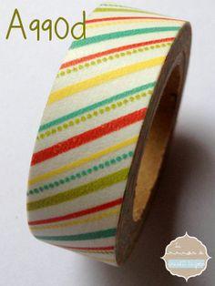 Washi Tape diagonales 990