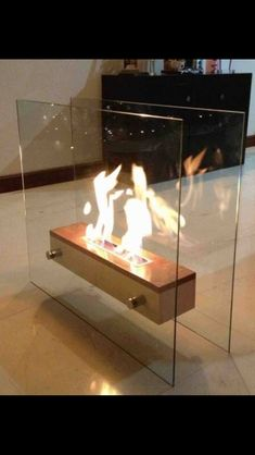 open face ethanol fireplace