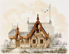 Fabrika de Case - Arhitectura veche, Rusia