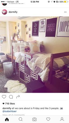 I like the storage boxes beneath the bed