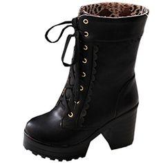 Partiss Damen Sweet Lolita Shoes Suess Lace Boots High-to... https://www.amazon.de/dp/B01EJ3TRM0/ref=cm_sw_r_pi_dp_m0eExb8BA261E