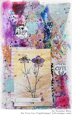 Art Journal Page - Process Video with Susanne