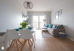 Aranżacje wnętrz - Salon: Home Staging mieszkania na wynajem - Salon, styl skandynawski - Nowe4Ściany. Przeglądaj, dodawaj i zapisuj najlepsze zdjęcia, pomysły i inspiracje designerskie. W bazie mamy już prawie milion fotografii!