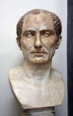Roman General & Statesman Julius Caesar is thought to have been born on of July 100 BC Ancient Rome, Ancient Art, Ancient History, Naples Museum, Roman Artifacts, Roman Sculpture, Art Antique, Julius Caesar, Roman History