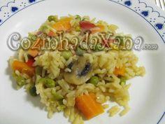 Arroz de legumes
