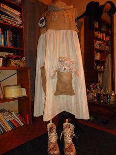 Robe toile matelas et chanvre