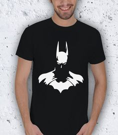 Batman Silhouette Men TShirt / Special Production by pankarts, $27.90