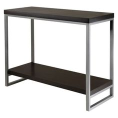 Winsome Jared Console Table $114.99. Like the style - not sure about the color.