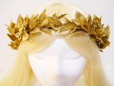 Gold Leaf Crown Laurel Wreath Greek ...