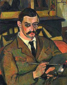 Portrait de Maurice Utrillo de Suzanne Valadon (1921).