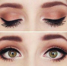 cool eye make-up